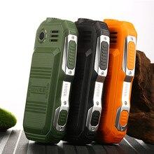Прочный мини мобильных телефонов Dual SIM Поддержка Русский Keybord большая кнопка большая голос дешевые телефон калькулятор фонарик F88 L99
