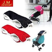 JEREMIAH New Winter Stroller Warmer Gloves Pushchair Hand Muff Waterproof Pram Accessory Baby Carriage Glove Buggy Cart Gloves