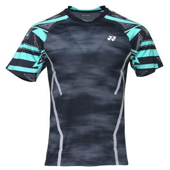 Nowy Yonex mężczyźni badmintona koszulki oddychająca komfort szybkie sucha siłownia Lin Dan Style krótki rękaw koszulka sportowa tanie i dobre opinie