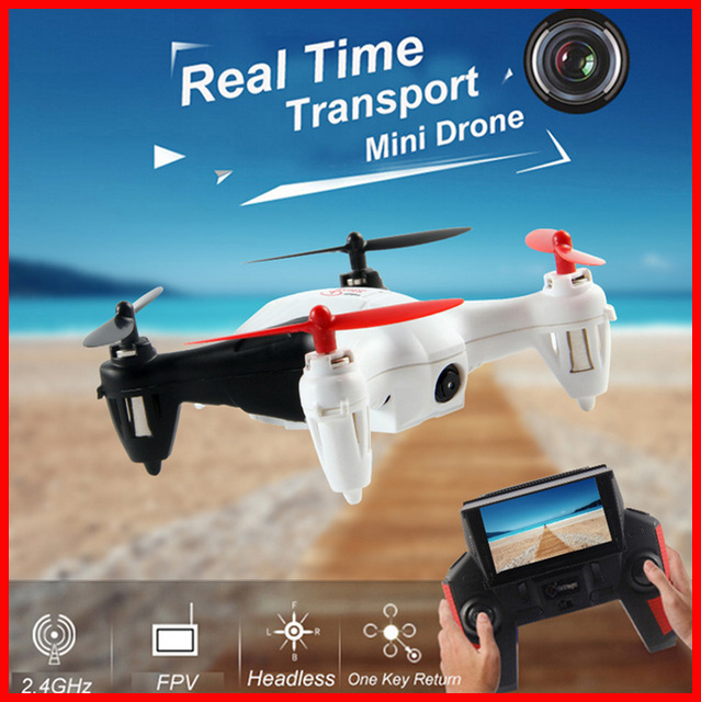 WLtoys Q242G Hexacopter RC Drone 2.4G 4CH Quadcopter 3D Rollover Remote Control Helicopter Dron with 2.0MP HD Camera X4 H107D