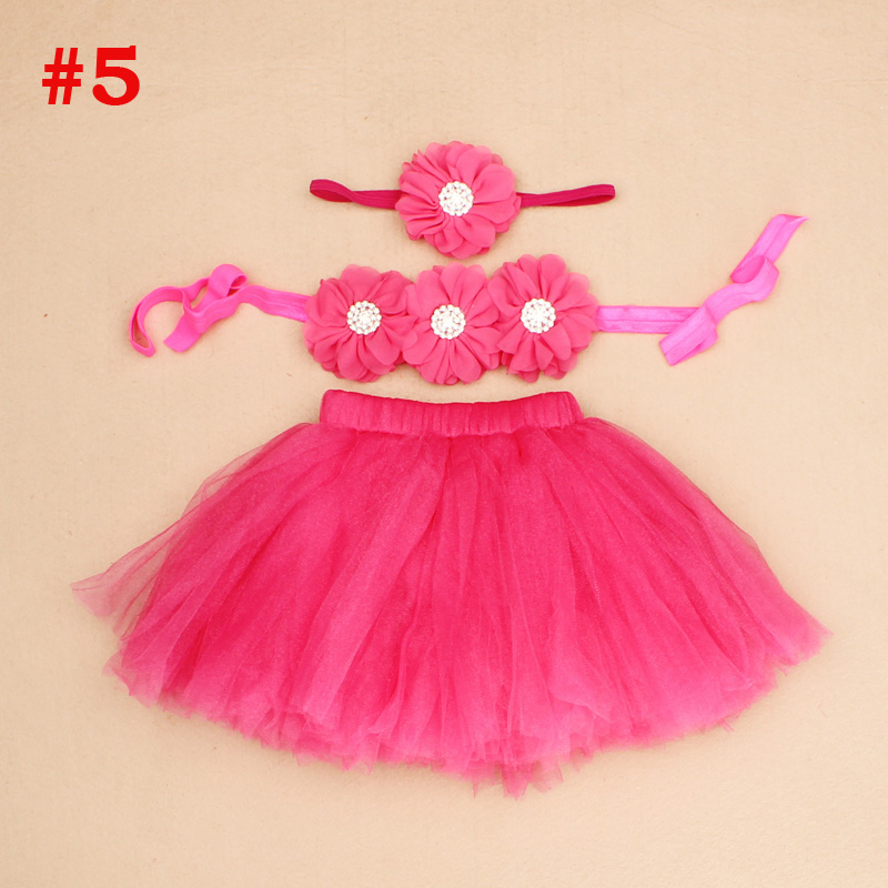New-Princess-Baby-Tutu-Skirt-with-Matching-Flower-Headband-and-Bra-Top-Little-Girl-Tutus-Photo-Props-Costume-Outfit-TS067-5