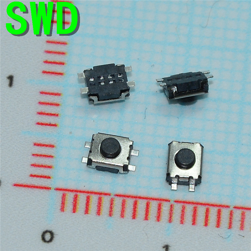 3*4*2MM 3x4x2H 2MM SMD-4 Touch micro switch / touch switch / button switch (10Pcs/Lot) #DSC0039 3 4mm micro switch smd 4pin new switch button key for mobile phone3x4 machine dsc0039