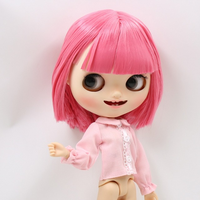 Neo Blythe Doll Shirt With Overall