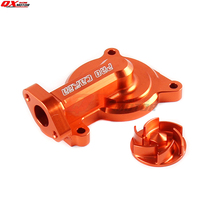 цена на Billet Aluminum Engine Pump Cover Connect Set for ZONGSHEN NC250 NC 250CC Water Cooled Engine Kayo T6 K6 Motorcycle Dirt Bike