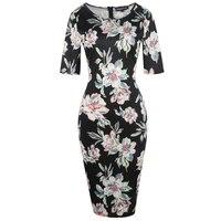Bandage Dress Party Black White Summer Casual Elegant Floral Dresses Midi Plus Size 1950 S 60