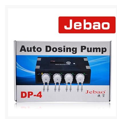 ФОТО  New Auto Dosing Pump JEBAO DP-4 for coral reef aquarium 4 pump head For Marine Aqua 110-240V, 50/60Hz