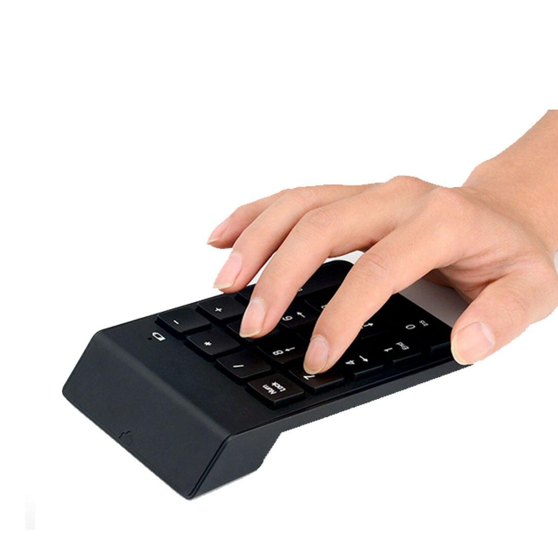 2016New High Quality Mini Numeric Keypad 18Keys Digital Keypad 2.4G USB Wireless Number Keyboard For Desktop Notebook Compatible numeric keypad 19 keys
