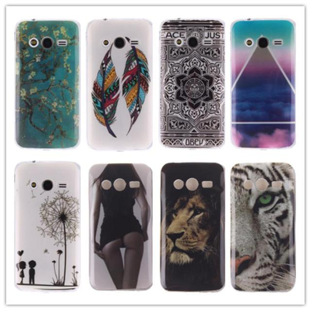 TPU Soft Case for Samsung Galaxy Ace 4 Lite Ace4 Neo G313 G318 G313H SM-G313H SM-G313F SM-G313M SM-G318H Painting IMD phone case