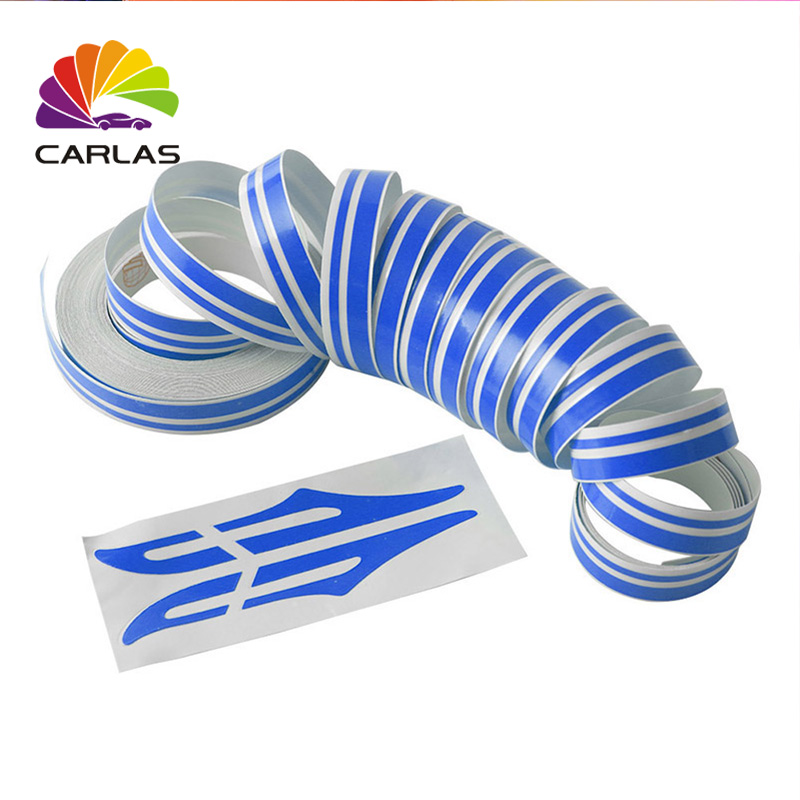 Carlas double line best car sticker design for car side decorate in Car Stickers from Automobiles Motorcycles
