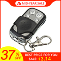 LEORY Universal 4 Channel Wireless RF Remote Control Duplicator Copy 433MHz Electric Gate Garage Door Key Switch Fob Controller