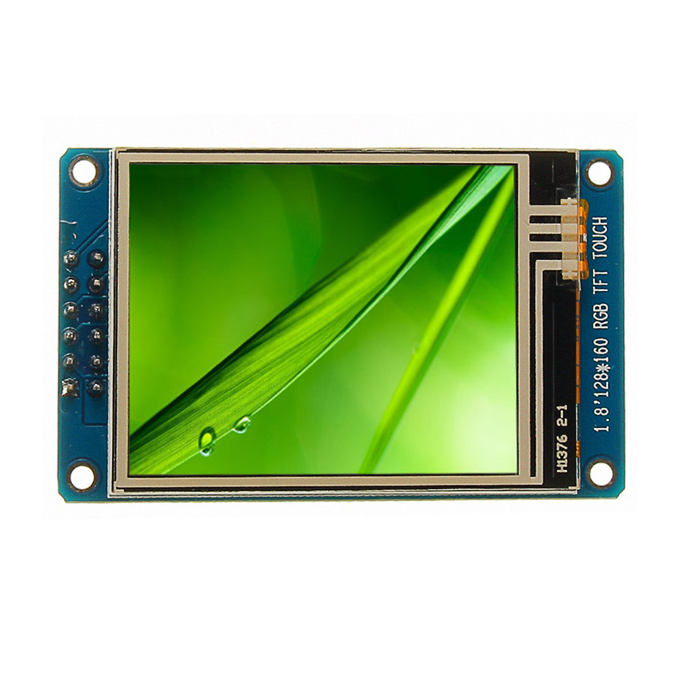 1.8 Inch LCD Screen SPI Serial Port Module TFT Color Display Touch Screen ST7735 For Arduino image