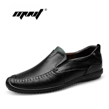 Genuine Leather Men Flats, Casual Soft Men Shoes, High Quality Men Loafers, Moccasin Design Driving Shoes
