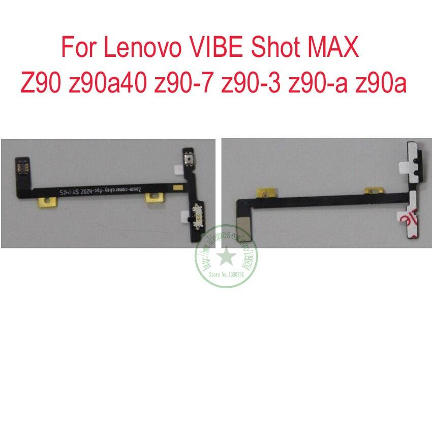 TOP Camera Button Key Flex Cable For LENOVO vibe shot z90 z90a40 z90-7 z90-3 z90-a z90a Phone Spare Parts