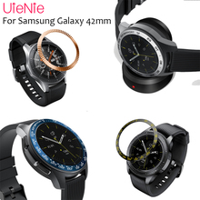Replacement Smart Watch Accessories For Samsung Galaxy 42MM Bezel Ring Adhesive Cover Anti Scratch Metal