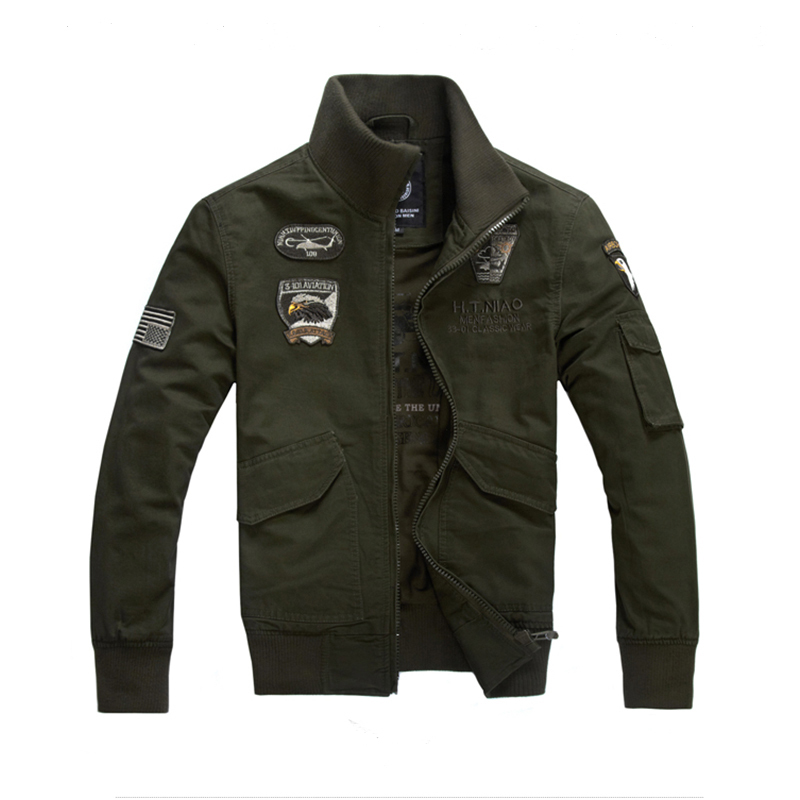 Brand men jacket aeronautica militare new arrival military
