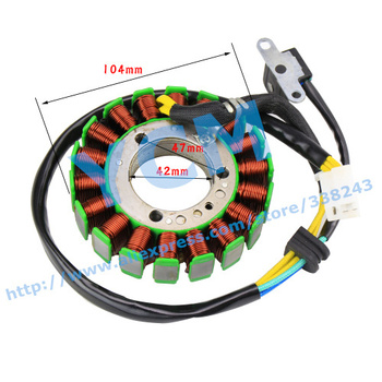 Magneto Coil 18 Pole Majesty250 YP250 LH250 250cc ATV Engine Big Power 104mm Outer Diameter Drop Shipping