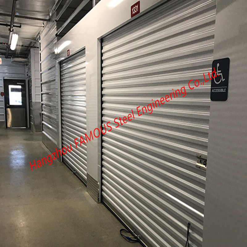 Flexible Self-Storage Industrial Roll Up Doors Pre-assembled Commercial Rolling Grillers Doors For Sale