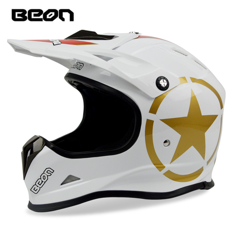 купить BEON motocross helmet Professional Downhill mountain bike helmet off-road helmet Dirt bike racing helmet ECE approved moto casco онлайн