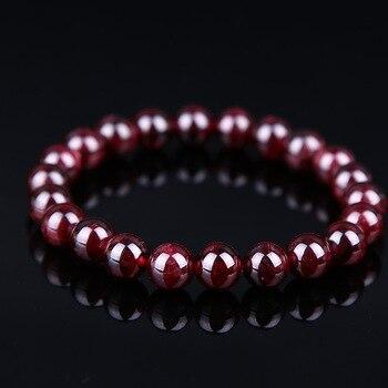 Bracelet Grenat Femme