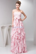 free shipping 2013 design hot sale plus size formal brides maid beading blue custom long elegant sexy pink cocktail dress
