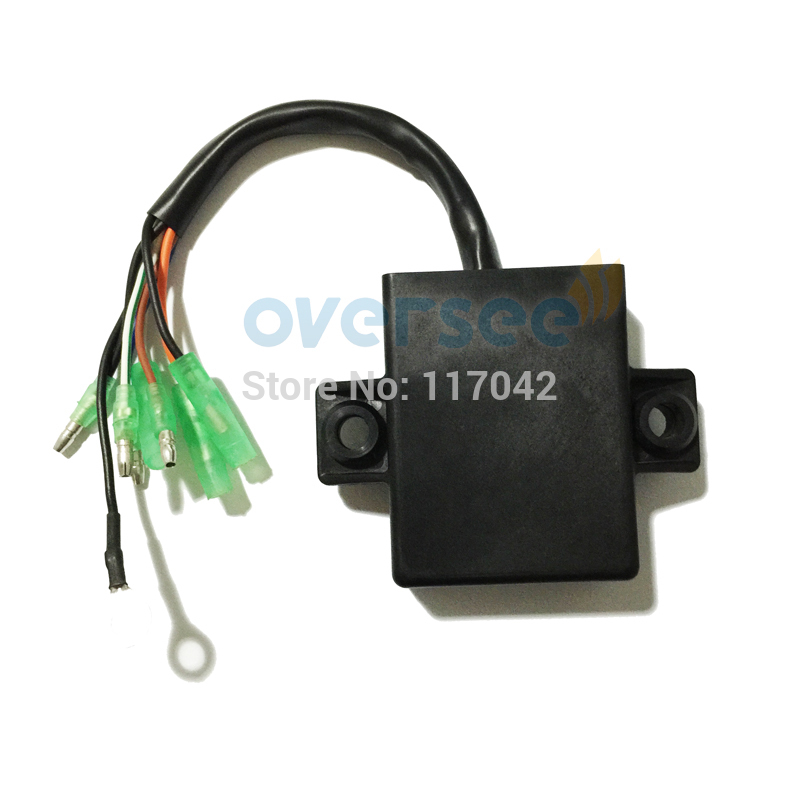 цена на OVERSEE 6B4-85540-00 Outboard CDI UNIT For Yamaha 15HP 9.9HP 15 9.9 E9.9 (6B4-85540) And Parsun T15 New model