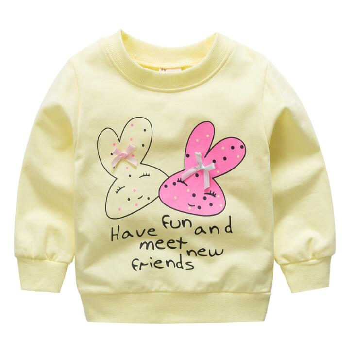 1 pc baby kids clothes girls sweater girls top cotton pullover outerwear
