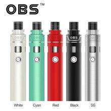 Original OBS KFB AIO Kit All In One Starter Vape Kit 0.3ohm Single Coil No 18650 Battery E- Cigarette Vaperator Kit Vs eGo AIO