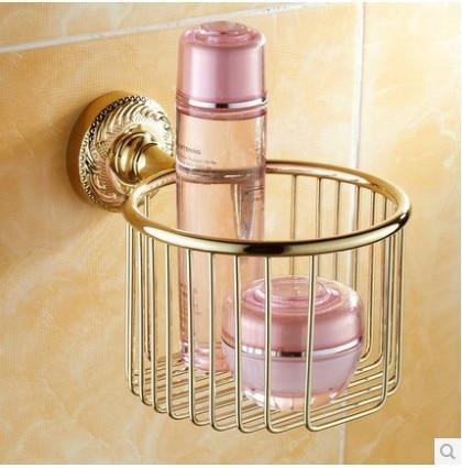 ФОТО The golden basket, towel rack, a basket, a toilet paper holder rack