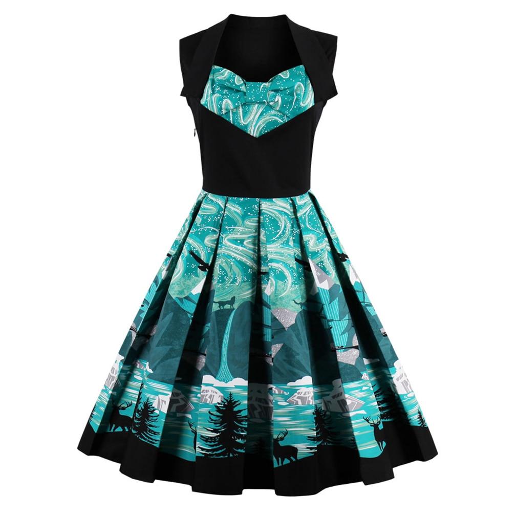 Vadonatúj, 1950-es évekbeli ruha, virágos nyomtatás 2017, luxus - Női ruházat