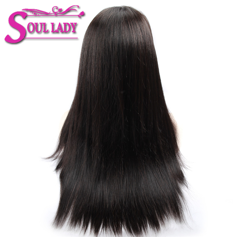 Human Hair Lace Wigs Lace Wigs Disciplined Soul Lady Pre Plucked 360 Lace Frontal Wigs Brazilian Straight Wig 150% Desnity Remy Hair Long Wigs Human Hair For All Women Ture 100% Guarantee