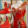 Real Picture Sweetheart Long 2014 Prom Evening Crystal Casual Dresses Gowns Special Occasion Dress Women Custom