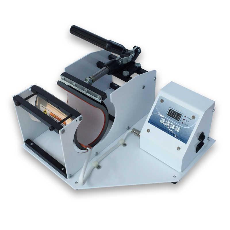 Máquina Da Imprensa Da caneca Caneca Impressora Digital Caneca da Imprensa Do Calor Da Máquina de Impressão Da Imprensa do Calor de Sublimação para Canecas Xícaras de Imprensa 11 OZ