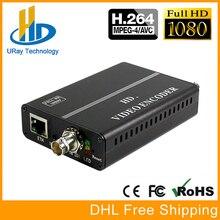 URay Mini H.264 Codificador de Vídeo SDI HD-SDI 3G-SDI Para IP Codificador De Vídeo Decodificador IPTV RTMP Codificador Codificador de Transmissão Ao Vivo