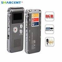 Best 8GB Mini Digital Audio Voice Recorder Dictaphone MP3 Player Recording Pen Recorder Pen Rechargeable