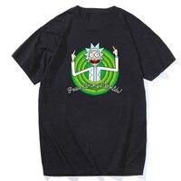Free Shipping Rick And Morty Geek T Shirt Men Women TV Tee Anime Funny T Shirt