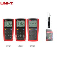 UNI T Pyrometer Contact Type Thermometer UT325 UT322 UT321 200~1375C Industrial Temperature 2CH Data Logging Test K/J/T/E/R/S/N