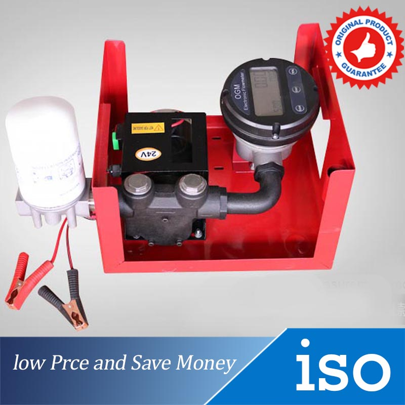 12V/24V/220V Electric Pumping Unit 60/min Digital Watches Diesel Oil Pump glukhar v