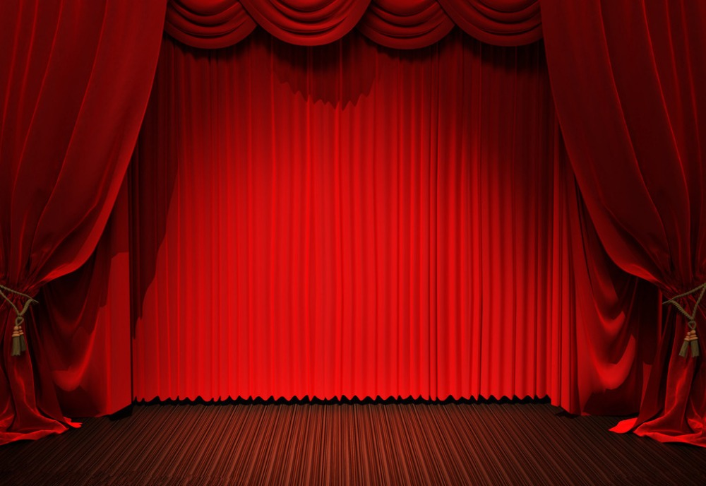 SHENGYONGBAO  Vinyl  Custom Photography Backdrops Props  red curtain theater Photo Studio Background NYSHD-80022 carstel s 80022