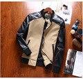 Aliexpress 2016 del otoño del resorte nuevos Hombres modelos de explosión de la venta caliente de los hombres de moda chaqueta de cuello alto ocasional Barato de china al por mayor