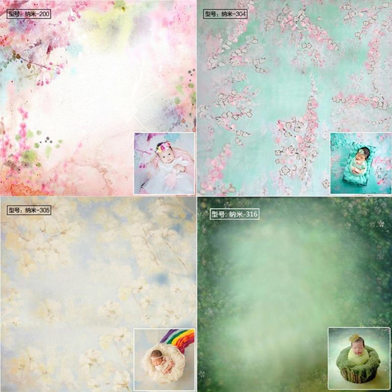 Nouveau-né bébé photographie lavable toile de fond couverture accessoires bébé Fotografia bébé Photo arrière-plan Nano tissu