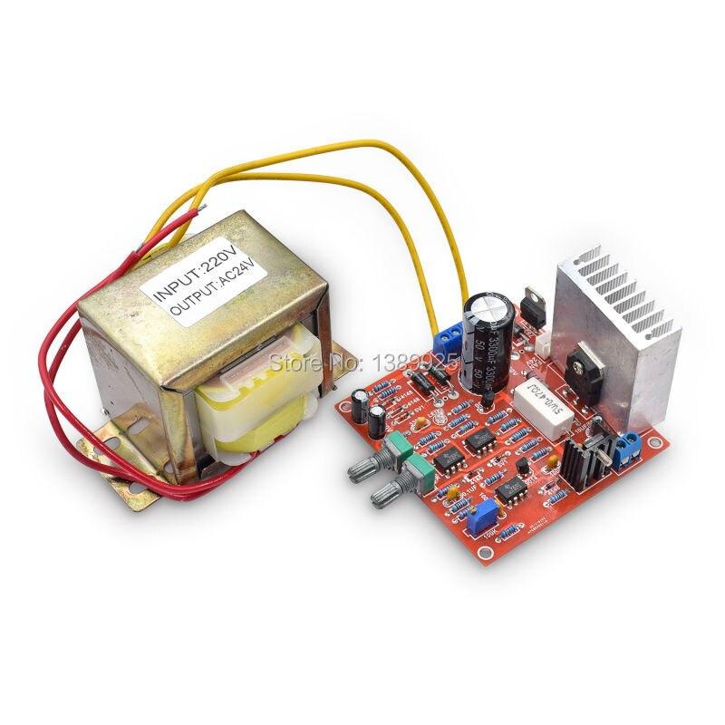 Livraison gratuite 0-30 V 2mA-3A réglable DC kit de bricolage d'alimentation avec AC 24 V transformateur