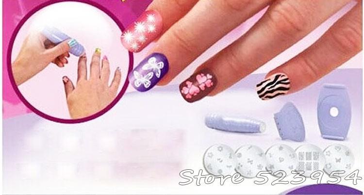 nail stamping set