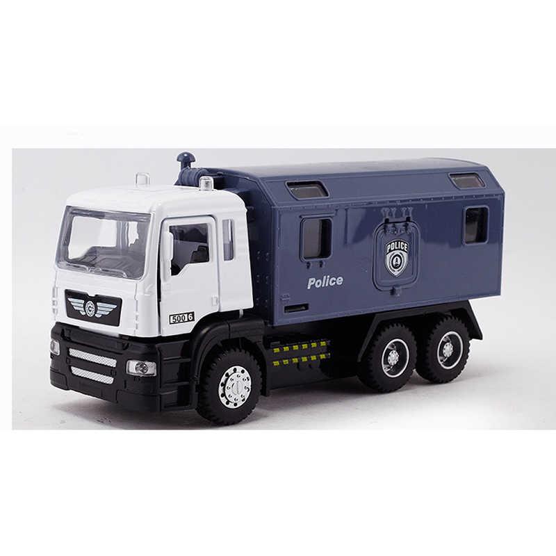 Kotak Asli baru Fireman Sam Anak Juguetes Mainan Truk Pemadam Kebakaran Mobil dengan Sirene Mainan Untuk Anak Pendidikan mainan Air Pistol Mainan Truk