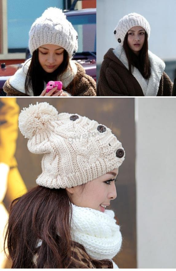 2017 New Winter Hats Warm Hat  Woolen Knitted Women Beanies  Candy Color For Girl Wholesales Free Shipping 2016 new beautiful colorful ball warm winter beanies women caps casual sweet knitted hats for women outdoor travel free shipping