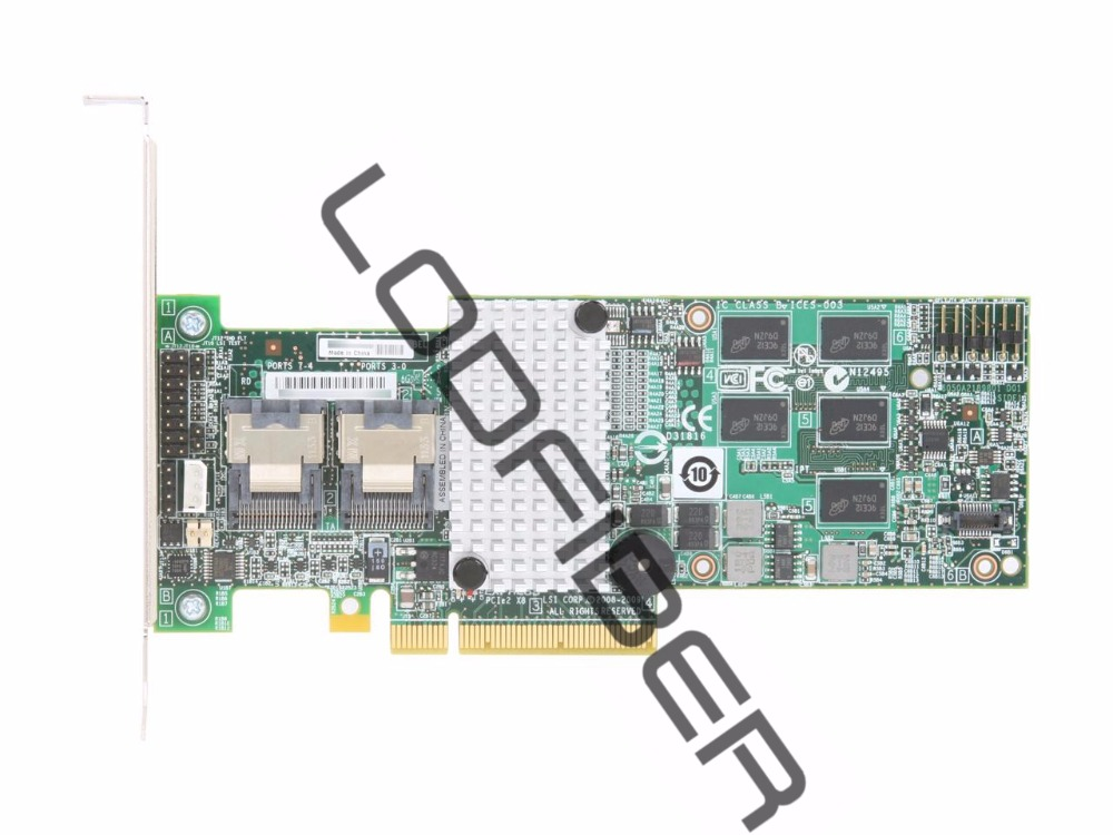 Один новый LSI MegaRAID 9260-8i 8-port PCI-E 6 ГБ/сек. sata/SAS RAID контроллер карты ...