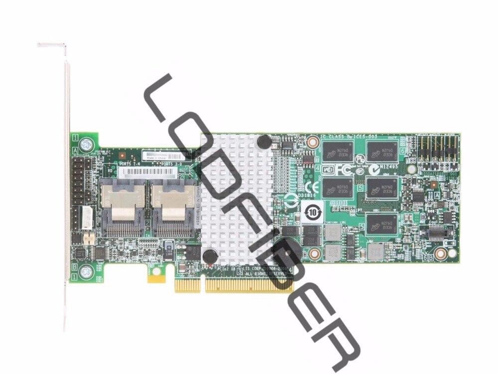 Un Nouveau LSI MegaRAID 9260-8i 8-port PCI-E 6 Gb/s SATA/SAS RAID Carte Contrôleur