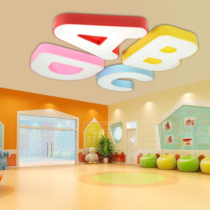 Children's room ceiling lamp nursery school classroom led eye lamp playground ceiling light modern hotel living room led lights