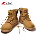 Z. Suo men Martin boots. Fashion first layer of leather men's boots, high-quality tooling boots man, botas hombre