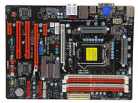 Free shipping original motherboard for Biostar T77 LGA 1155 DDR3 for 22nm CPU USB2.0 USB3.0 DVI VGA HDMI 32G Desktop Motherboard