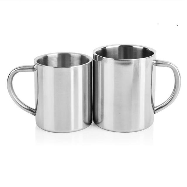 Double Wall Stainless Steel Coffee Mug 1